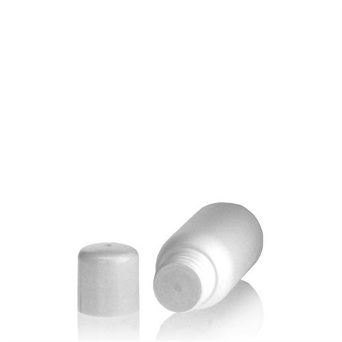"""50ml bottiglia HDPE """"Tuffy"""" bianco con chiusura a spruzzo"""