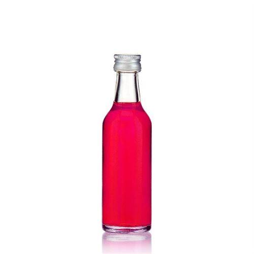 50ml bottiglia collo retto