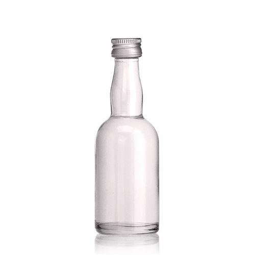 """50ml bottiglia in vetro chiaro """"Aladin"""""""