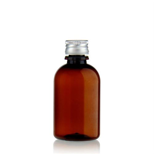 """50ml bouteille PET brun """"Easy Living"""""""