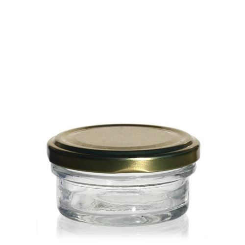 50ml delikatesseglas, med Twist Off 66