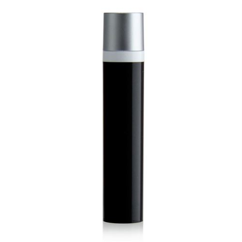 "50ml dispenser ""Airless"" MICRO black/silver cap"