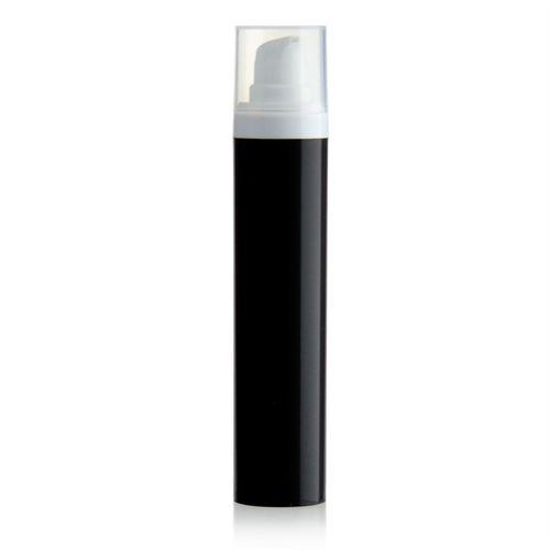 50ml Airless Dispenser MICRO black/white