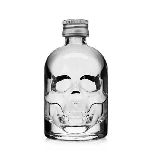 """50ml flaske """"Dødningehoved"""""""