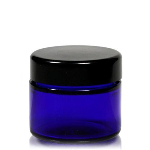 """50ml vasetto di vetro """"Blue Edition"""""""