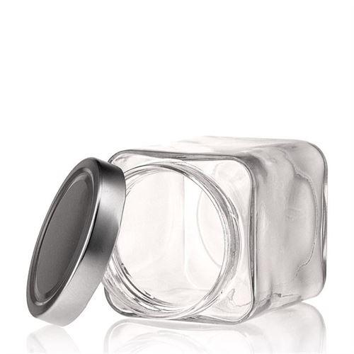 "580ml vasetto in vetro designer rettangolare ""Ikarus"""