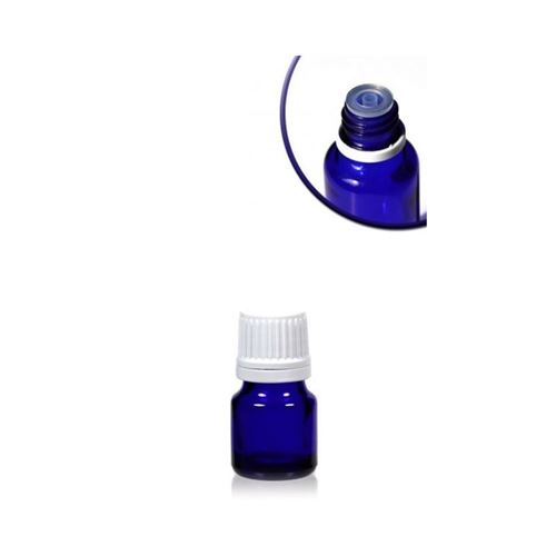 5ml Bottiglia medica blu con contagocce a caduta.