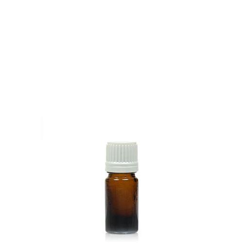 5ml brun medicinflaske med orginality-lock