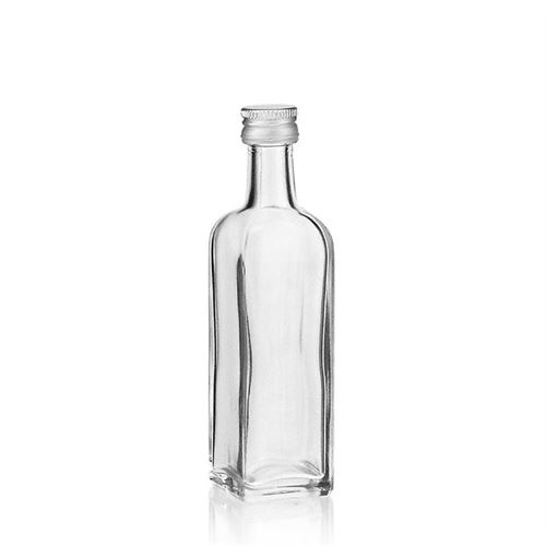 "60ml botella de vidrio transparente ""Marasca"""