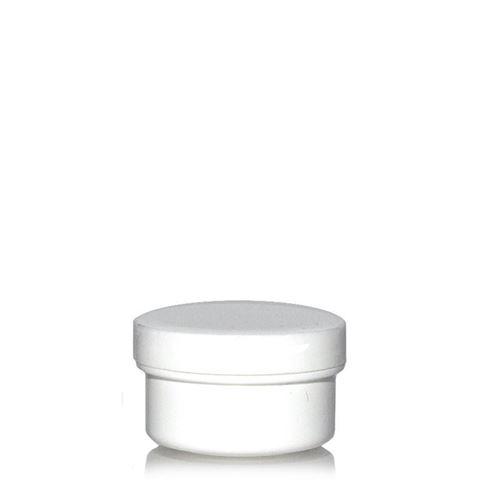 """6ml boîte avec couvercle à vis """"White Line"""""""