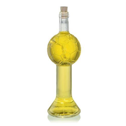 """700ml Bottiglia di vetro trasparente """"Coppa da calcio"""""""