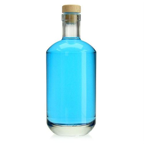 "700ml botella de vidrio transparente ""Vienna"""