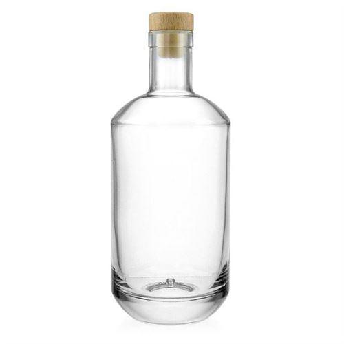"700ml glasflaske ""Vienna"", klar"
