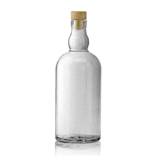 "700ml Bottiglia in vetro chiaro ""Aberdeen"""