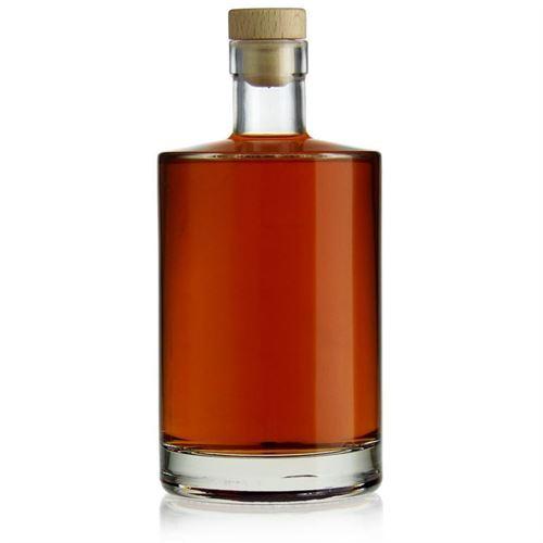 "700ml Bottiglia in vetro chiaro ""Aventura"""