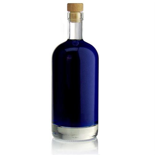 """700ml Bottiglia in vetro chiaro """"Linea Uno"""""""