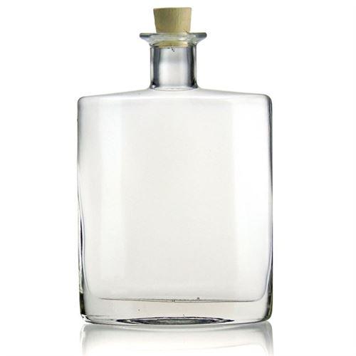 """700ml Bottiglia in vetro chiaro """"Zorbas"""""""