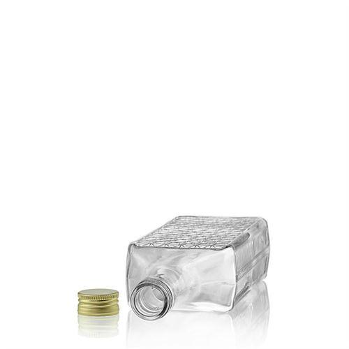 """700ml glazen fles met relief """"Caruso"""""""