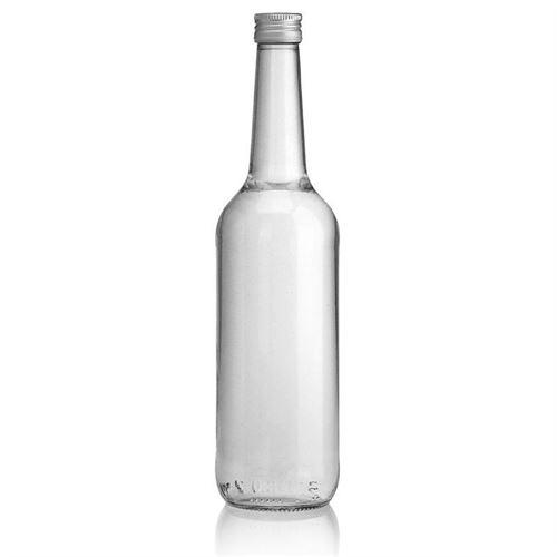 700ml botella con gollete recto