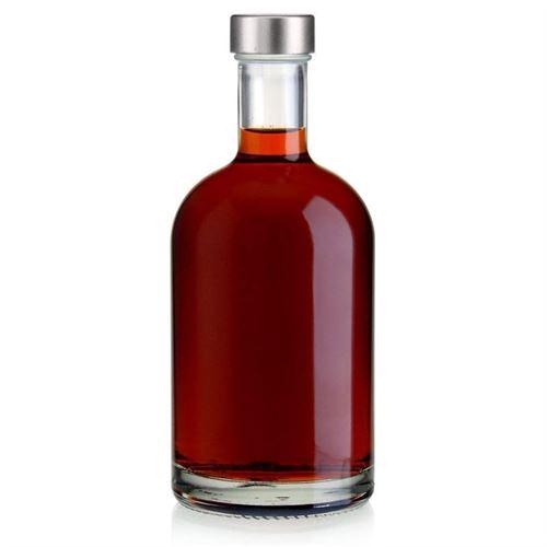 """700ml bottiglia in vetro chiaro """"First Class"""" con chiusura GPI"""