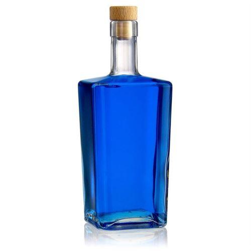 """700ml bouteille en verre clair """"Noel"""""""