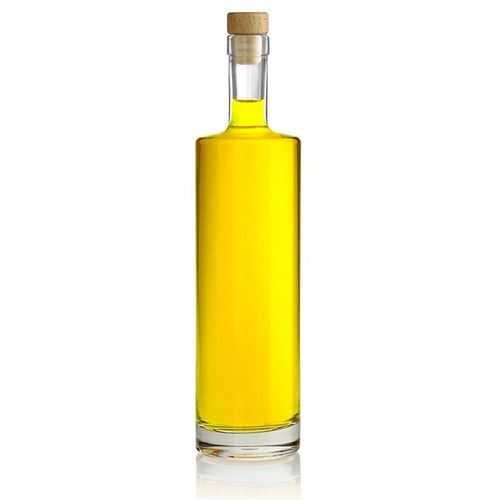 "700ml bouteille en verre clair ""Titano"""