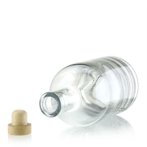 "700ml bouteille en verre clair ""First Class"""