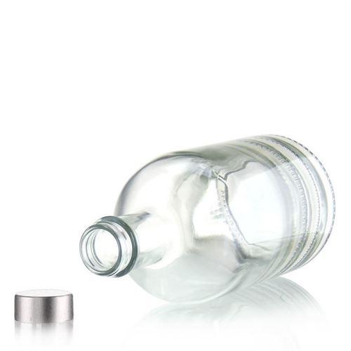 """700ml bouteille en verre clair """"First Class"""" avec bouchon GPI"""