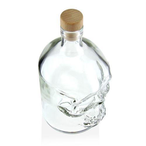 """700ml flaske """"Dødningehoved"""""""