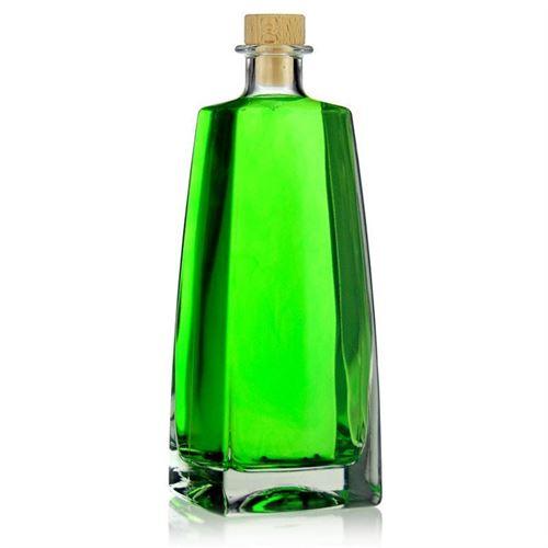 "700ml flaske i klart glas ""Timmy"""