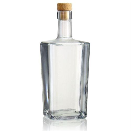 """700ml glazen fles clear """" Noel"""""""