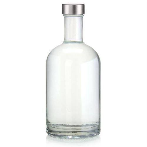 """700ml glazen fles clear """"First Class"""" met GPI schroefdeksel"""