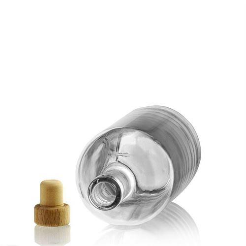 "700ml glazen fles clear ""Linea Uno"""