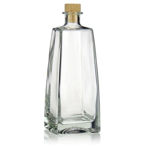 "700ml glazen fles clear ""Timmy"""