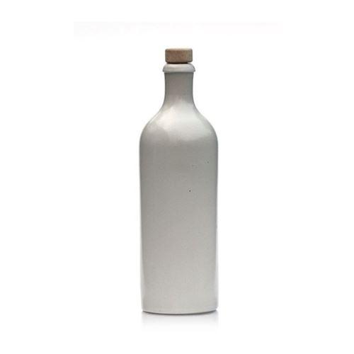 750ml Keramikflaske, hvid