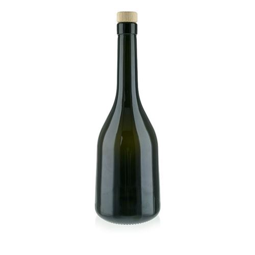 "750ml bouteille vert noble ""Rustica"""