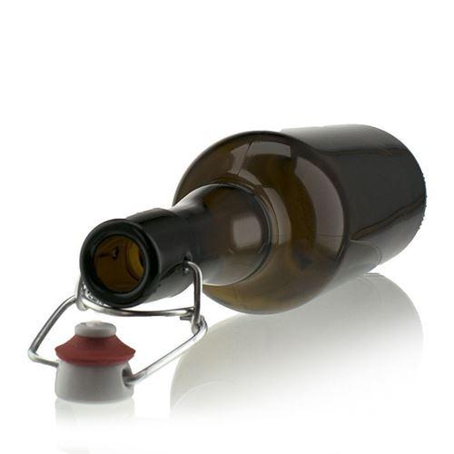 750ml braune Bierflasche mit Bügelverschluss