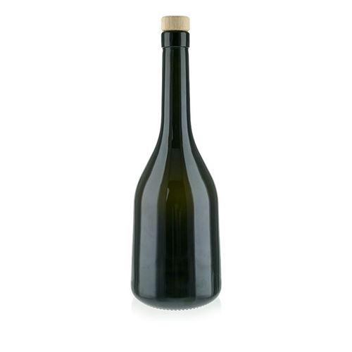 "750ml ædelgrøn flaske ""Rustica"""