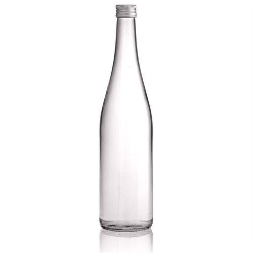 """750ml bouteille bouchon à vis """"Forme vin du Rhin"""""""