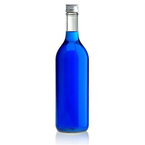 750ml Klarglasflasche Bordeaux Allegée Schraube