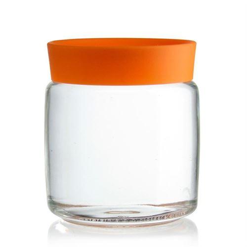 """750ml Vaso in vetro """"Classio arancio"""""""