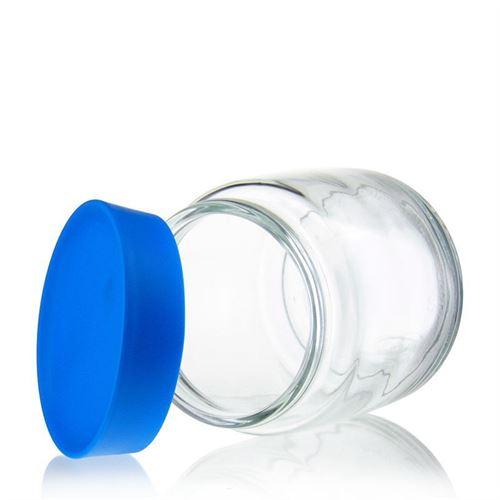 """750ml Barattolo in vetro """"Classio blu"""""""