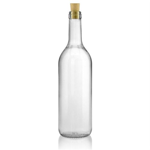 "750ml flaske i klart glas ""Bordeaux Allegée Band"""