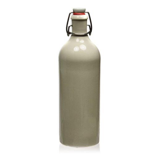 """750ml bouteille en grès fermeture mécanique """"beige"""""""