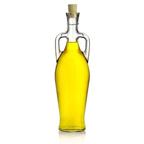 """750ml bouteille verre clair """"Amphore"""""""