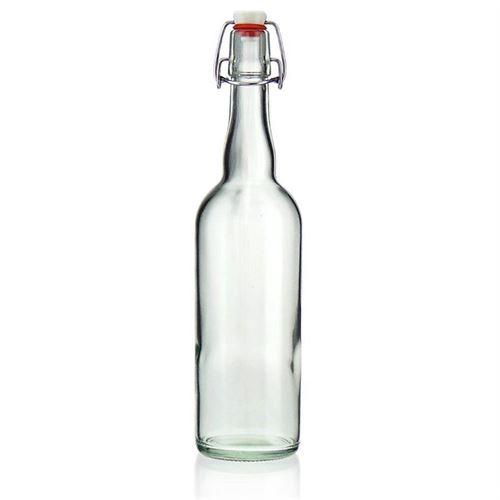 "750ml bouteille verre clair ""Bendolino"""