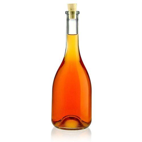 """750ml bouteille en verre clair """"Rustica"""""""