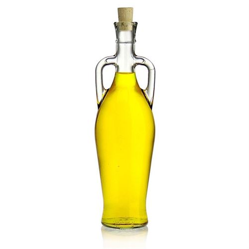 "750ml clear glass bottle ""Amphora"""