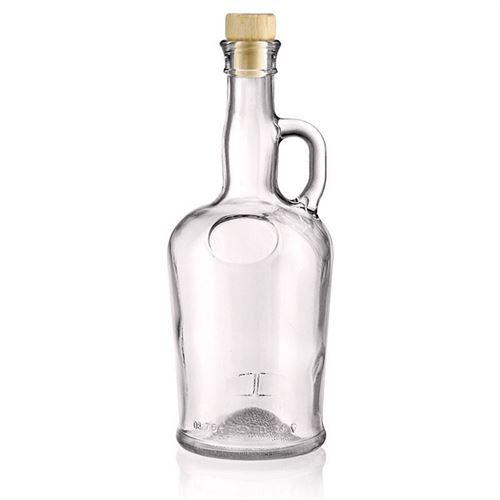 """750ml flaske i glas med hanke """"Barcelona"""""""