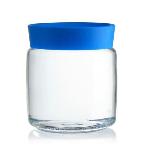 "750ml glasdåse ""Classio blu"""